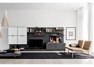客厅简易后现代电视柜
