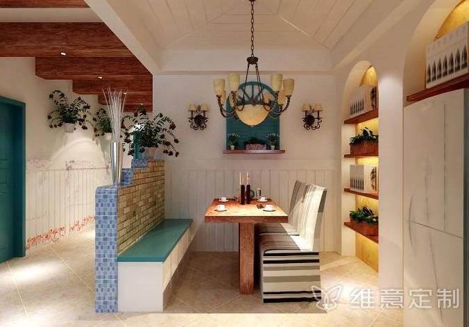 浪漫地中海风格小餐厅