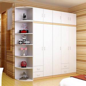白色多功能衣柜