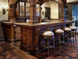 古典中式吧台