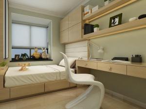 卧室现代榻榻米