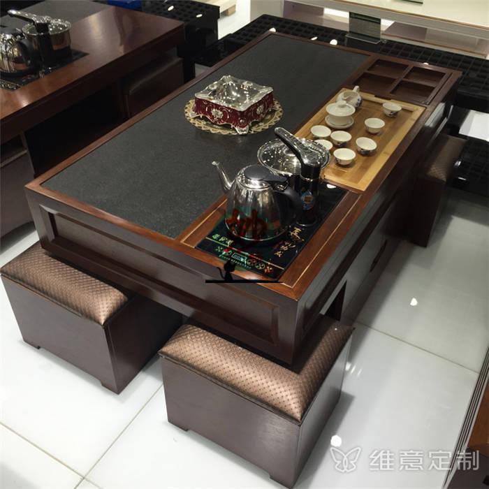 客厅组合中式茶几
