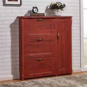 新古典�t木鞋柜