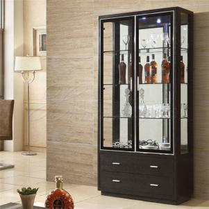 时尚简单的厨房隔断柜