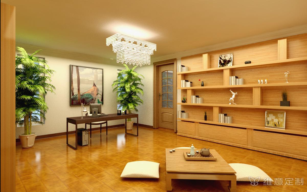 复式楼日式书房