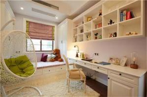 温馨舒适儿童书房装修设计