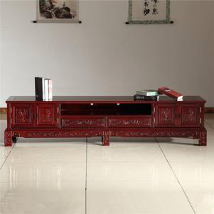 古典红木电视柜