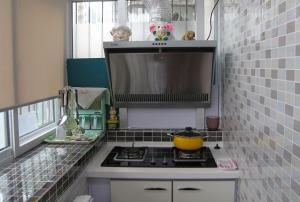 小户型简易阳台改厨房效果