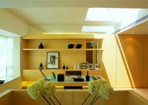 现代简约书房装修效果图实