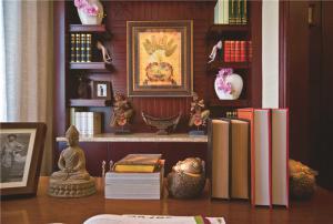 美式书房装修效果图样板间