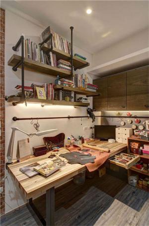 小户型室内设计书房办公区