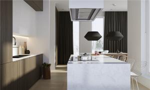 小户型家装样板开放式厨房