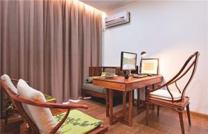 中式榆木小书房装修风格