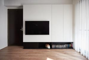 卧室电视柜电视机背景墙