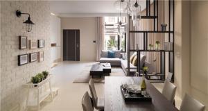 一居室现代简约背景墙