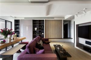 开放式客厅家具酒柜