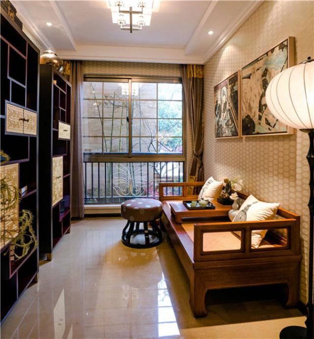 新中式风格书房设计