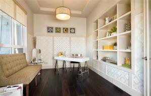 白色家用简易书柜