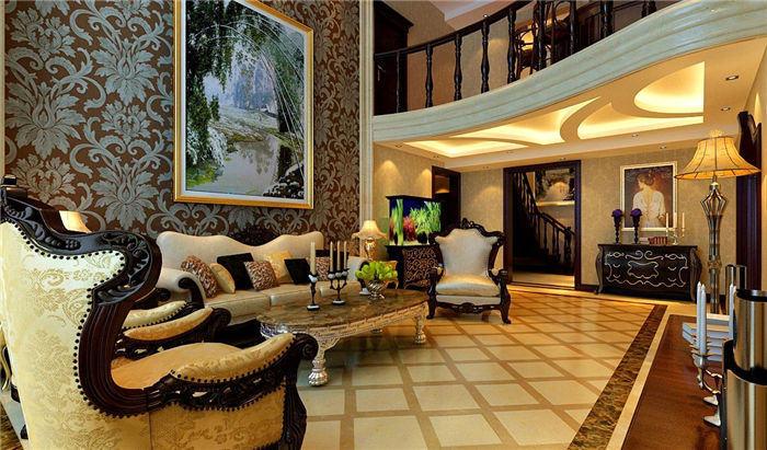 别墅客厅欧式装修