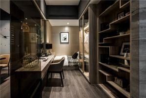 公寓开放式整体衣柜