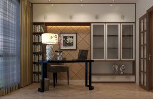 套房卧室书柜