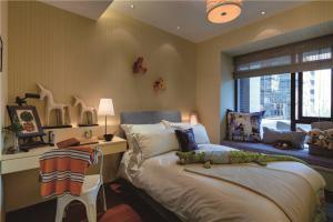 家装卧室飘窗设计