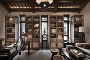 好看的最新新中式书柜