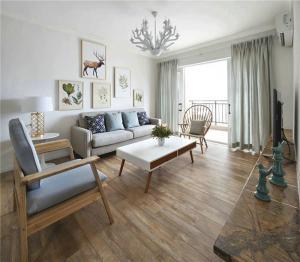 小户型家装样板间客厅设计