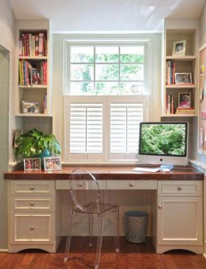 小书房书柜效果图欣赏