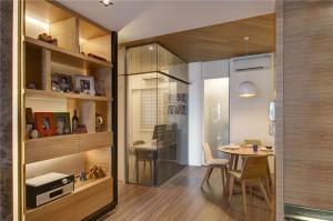小户型家装设计酒柜