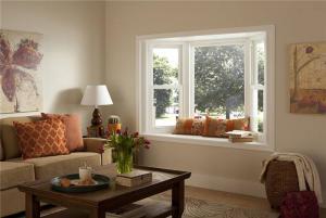 时尚客厅飘窗设计效果图
