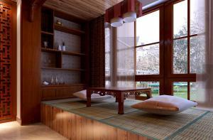 客厅榻榻米阳台装修