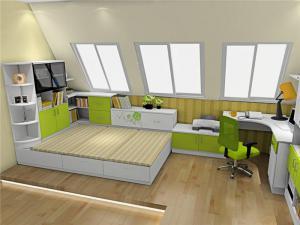 阁楼榻榻米卧室设计