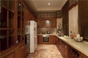 豪华实木整体厨柜