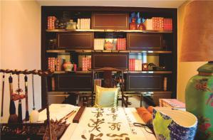 书房设计中式书桌