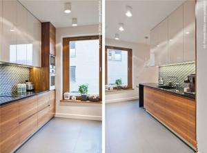实木小厨房橱柜