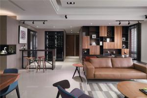 公寓客厅酒柜