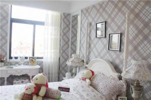 国外儿童房双人床