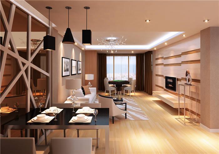 公寓客厅餐边柜