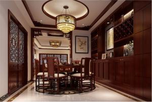 现代中式酒柜