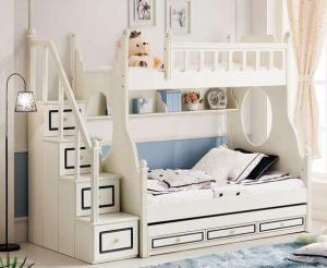 卧室高低床装修效果图实拍