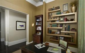 开放式书房装修效果图实景