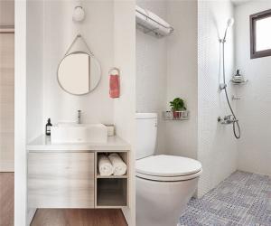 小户型家装样板间现代卫生