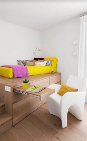 多功能小空间儿童房设计