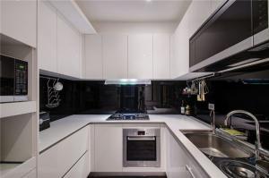 小户型家装样板间U型厨房