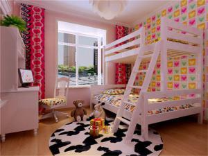 儿童房双层上下床