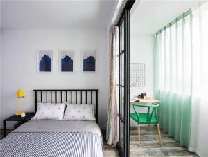 公寓单人床