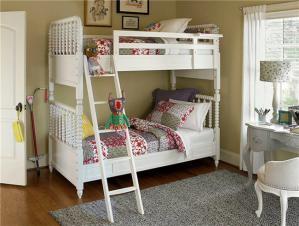 23平方米卧室高低床装修效果图