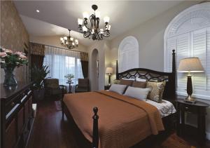 23平方米卧室双人床