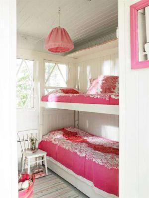 温馨感十足的卧室上下床装